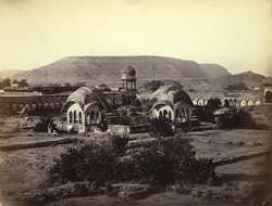 [Tomb of Banu Begum], Nr. Aurangabad.